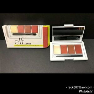 e.l.f ACTIVE workout ready lip and cheek palette